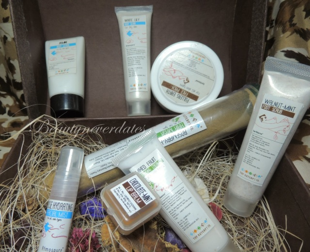 October - The Wedding Special Beauty Wish Box by The Nature's Co