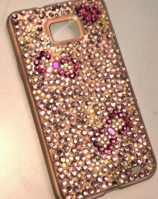 DIY Rhinestone Cell Cases
