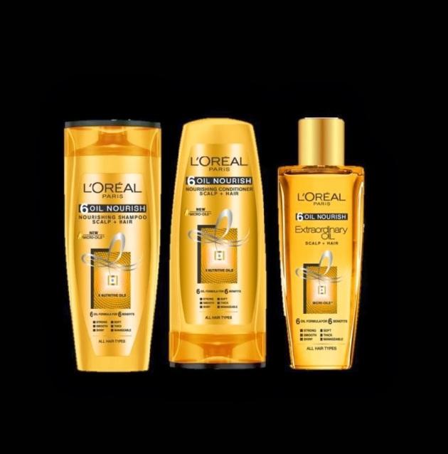 L'Oréal Paris 6 Oil Nourish Range