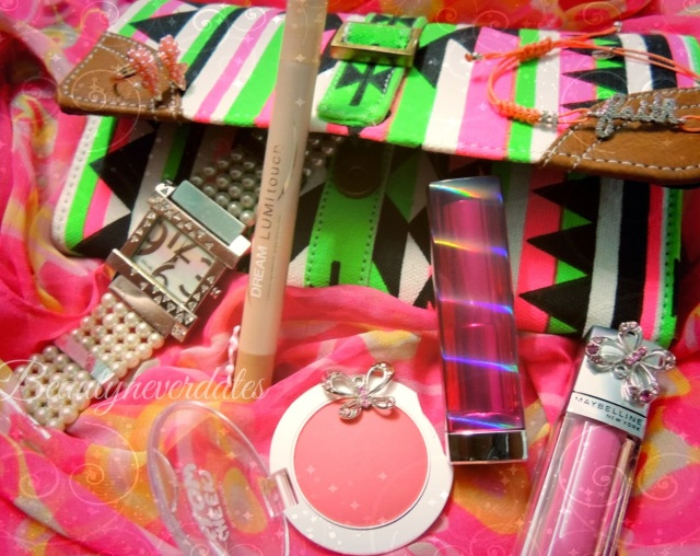 Paint the town Pink with Maybelline - #30shadesofpink