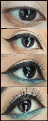 Maybelline Colossal Kohl Turquoise Review and Tutorial