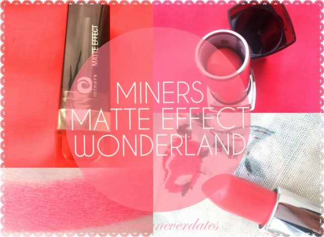 Miners Cosmetics Lipstick - Wonderland