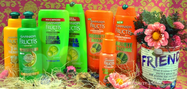 My Favorite Garnier Hair Products - Shampoo, Conditioner, Leave-in-conditioner and Styling Gel