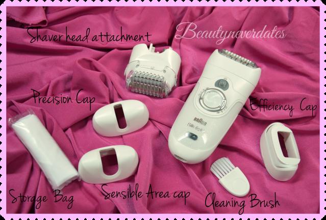 Braun Silk-épil 7 Wet & Dry epilator- Bonus Edition
