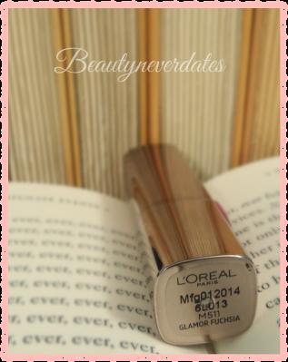L'Oreal Paris Colour Riche Moisture Matte - M511 Glamour Fuchsia Review and Swatches