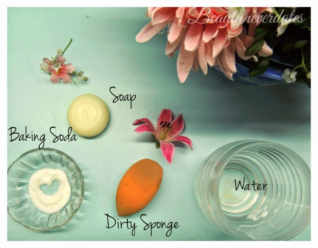 Best way to clean your makeup sponge and Remove stains