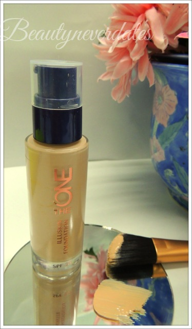 Oriflame The ONE IlluSkin Foundation Review and Swatches