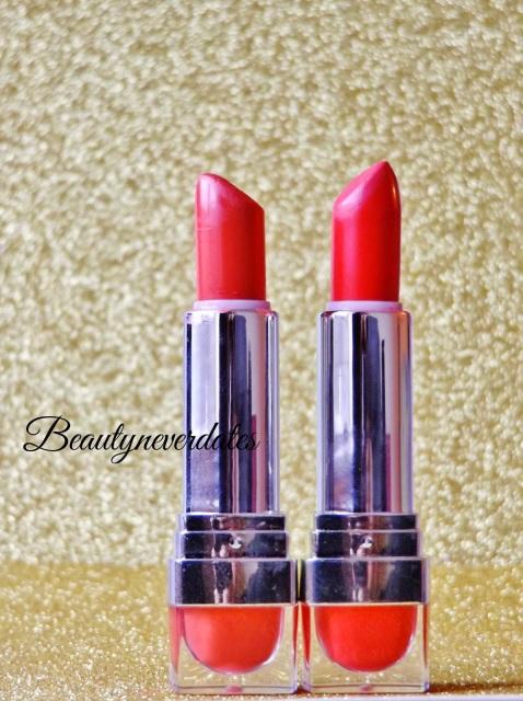 Miners lipsticks Haul !  Matte Effect & Moisture Effect - WonderLand & Kiss me quick