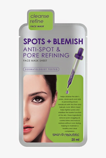 Skin Republic launches Spots + Blemish Face Mask to target trouble skin!