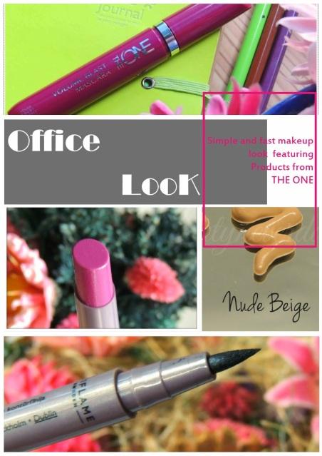 Simple Office Makeup Look