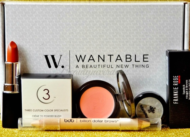 Wantable Collection February 2015 - Create Your Own Makeup Collection