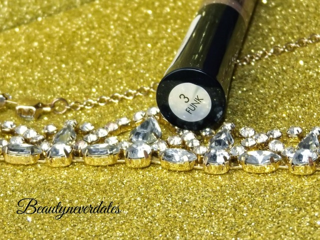 Collection Glam Crystals Dazzling Gel Liner - 03 Funk