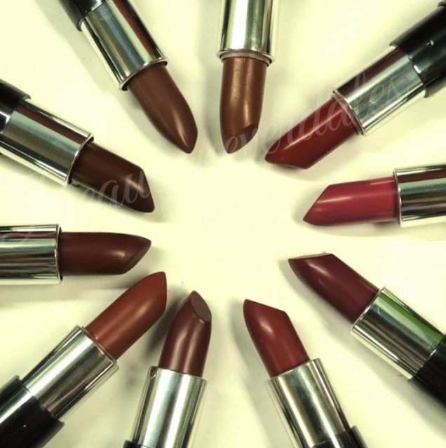 The ONE Matte Lipsticks Review and Swatches