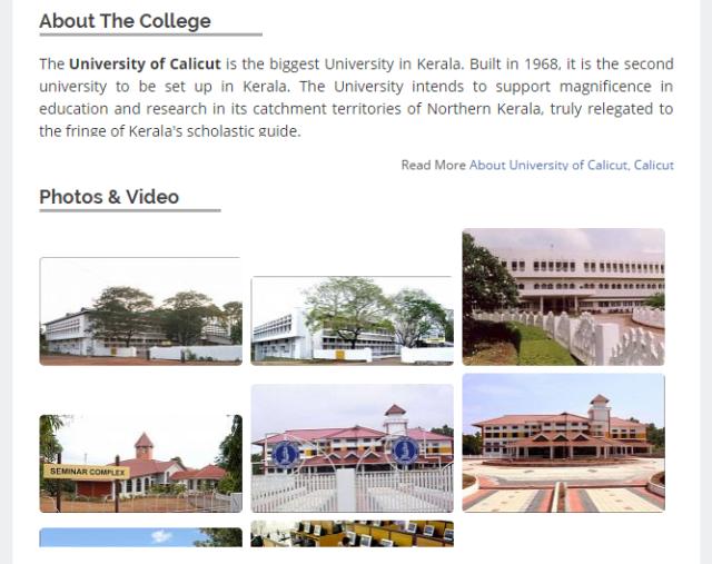 Calicut University Review - Collegedunia.com