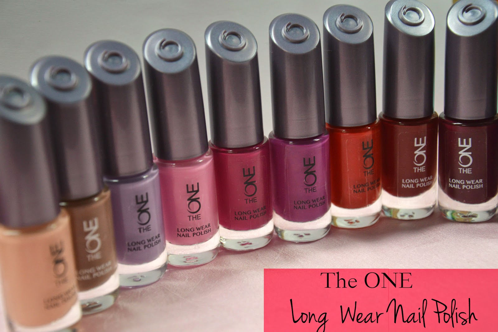 New ! THE ONE LONG WEAR NAIL POLISH – Beautyneverdates