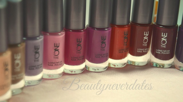 The ONE Long Wear Nail Polish Review and Swatches