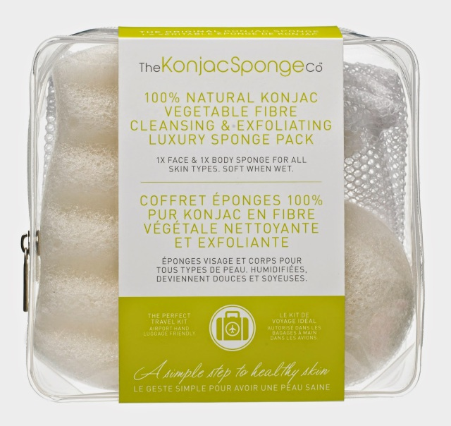 Travel light this summer with The Konjac Sponge