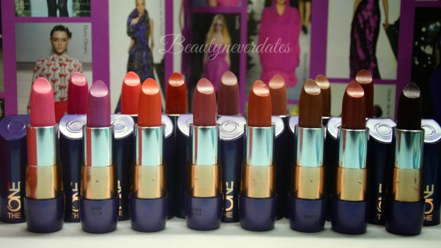 The ONE 5-in-1 Colour Stylist Lipstick Review and Swatches
