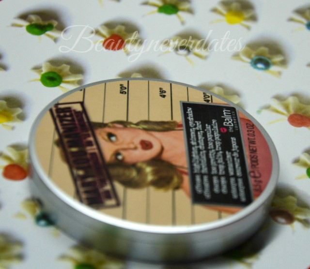 The Balm - Mary-Lou-Manizer review