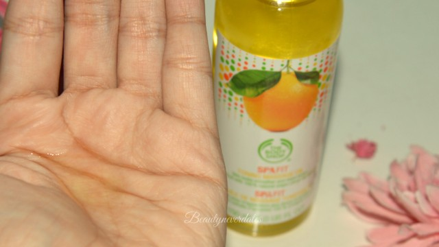 Spa Fit Firming and toning Massage Oil-