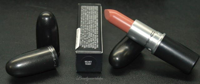 Mac Soft matte lipstick in Velvet Teddy