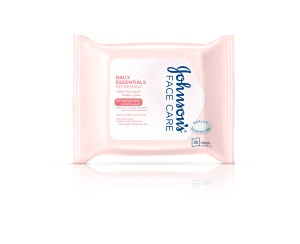 Johnson's Face Care Daily Essentials REFRESHING Cleansing Wipes (for normal skin)