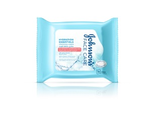 Johnson's Face Care Daily HYDRATION Essentials Cleansing Wipes (for normal to combination skin)