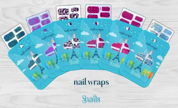 SNAILS nail wraps